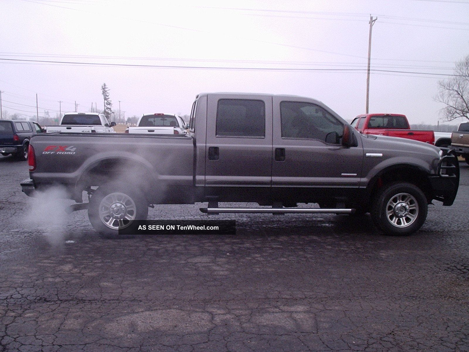 hight resolution of 2006 ford f250 sd lariat crew cab 4x4 6 0 powerstroke turbo diesel automatic