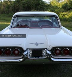 1960 ford thunderbird 2 door hardtop 352 make offer let 77 pict fully load [ 1600 x 1066 Pixel ]