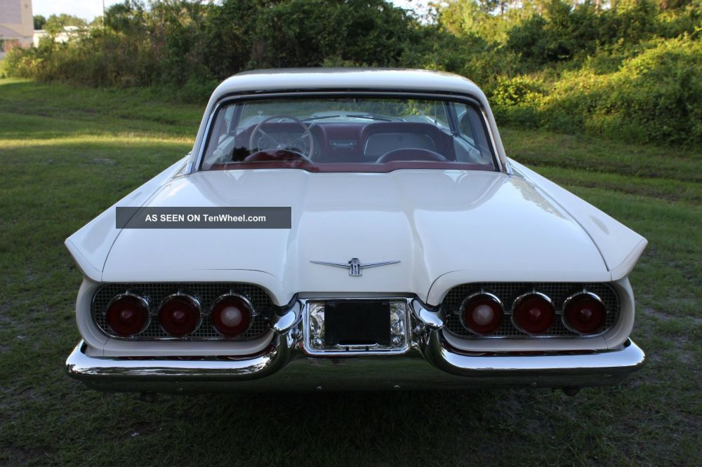 medium resolution of 1960 ford thunderbird 2 door hardtop 352 make offer let 77 pict fully load