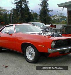 1970 plymouth barracuda 671 blown dual carb big block pro street cuda 700hp [ 1280 x 960 Pixel ]