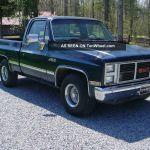 1985 Gmc Chevy 1500 High Sierra 4x2 Pick Up Beauty