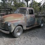1950 Chevy 1 2 Ton Truck Rat Rod Patina