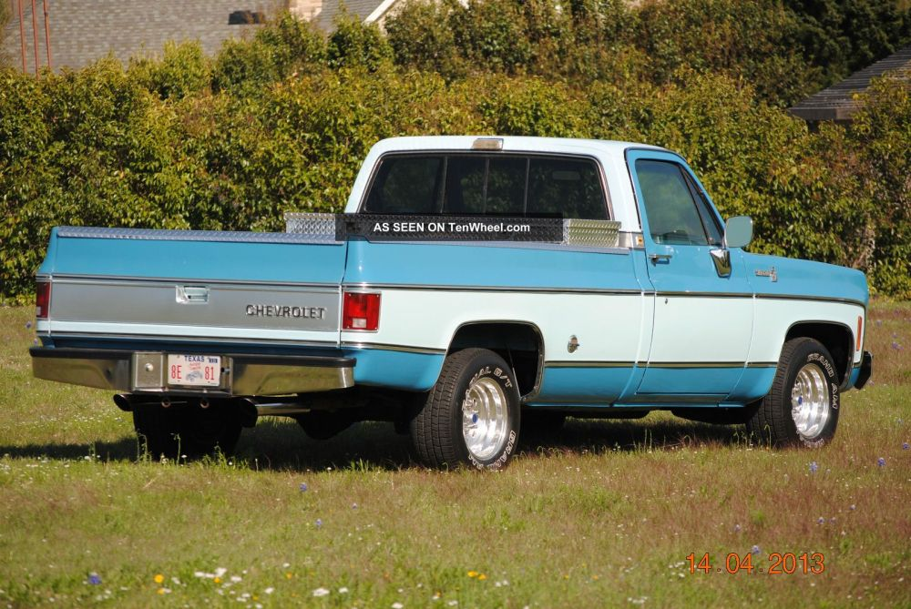 medium resolution of 1978 chevy cab pick up with