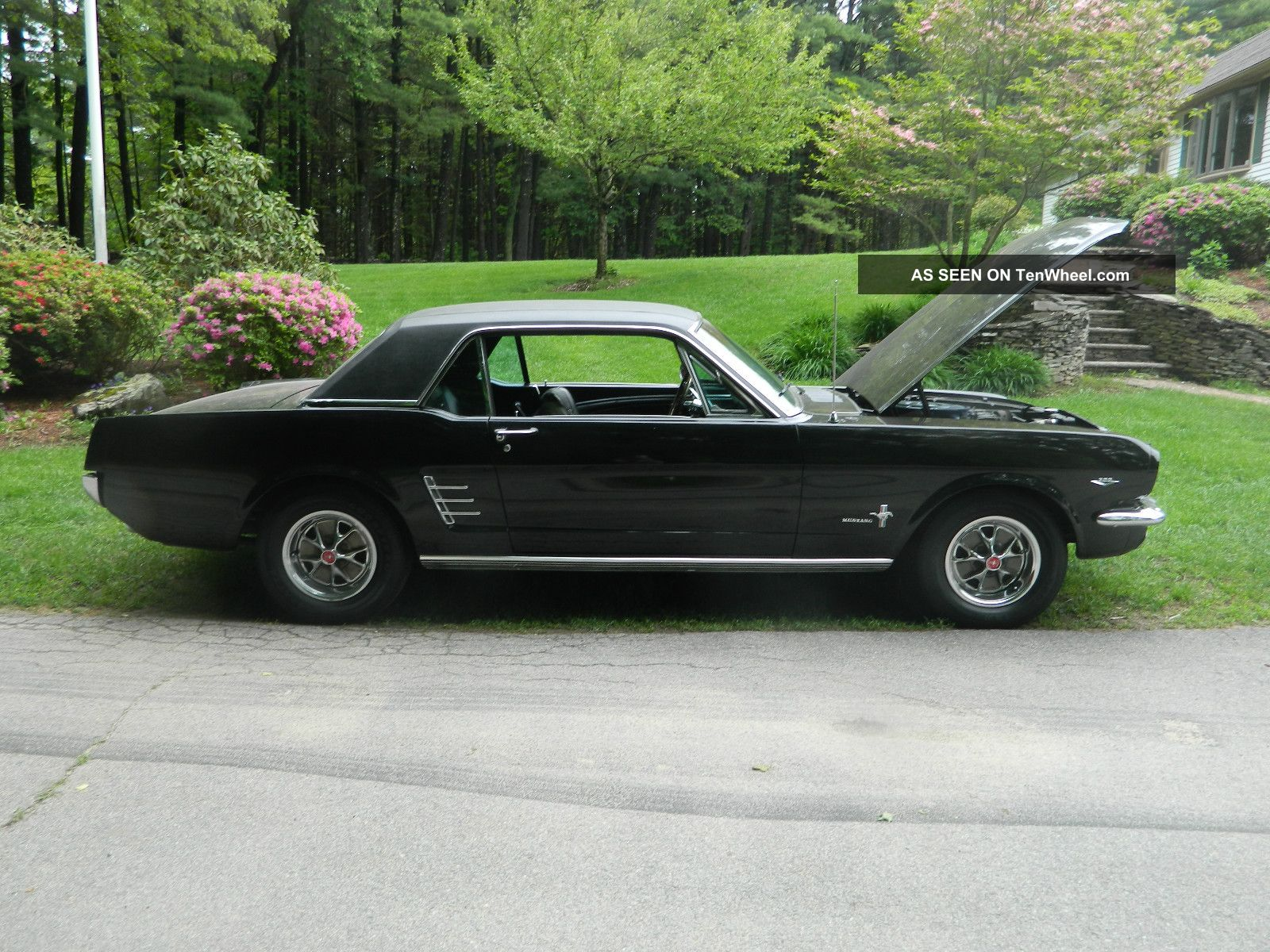 1966 Ford Mustang Coupe Length