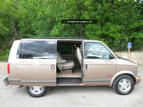 small resolution of 1999 chevy astro awd 8 passenger mini van reliable many options inspected