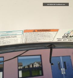 2002 gem e825 car lsv electric vehicle golf cart other makes photo 9  [ 1600 x 1200 Pixel ]