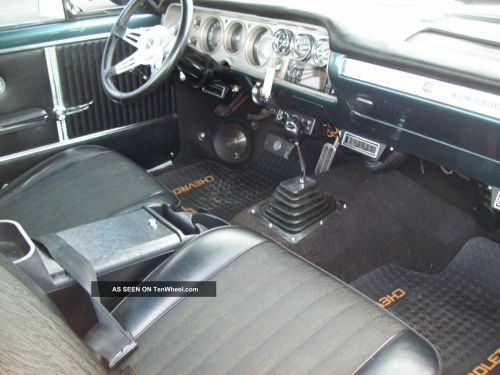small resolution of 1974 el camino interior