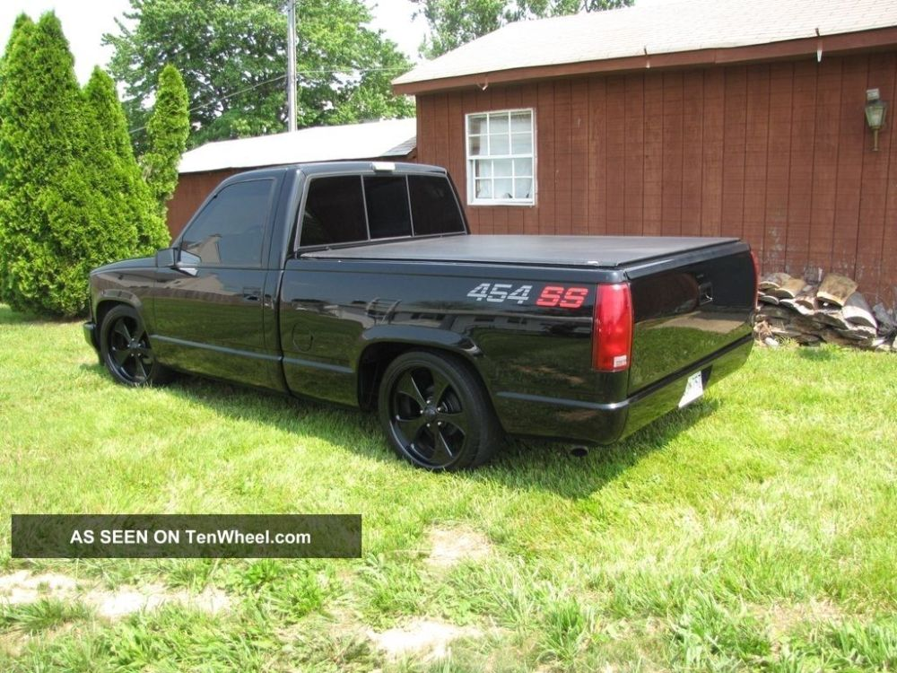 medium resolution of custom chevy 454 ss truck