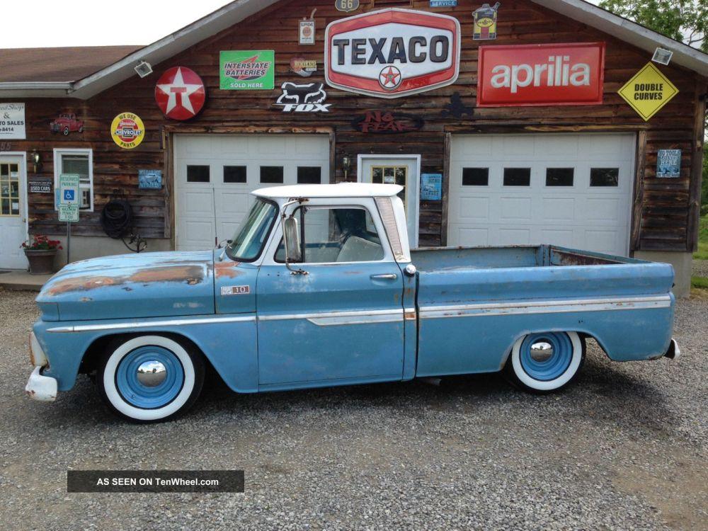 medium resolution of 1965 chevy c10 pickup rat rod truck photo