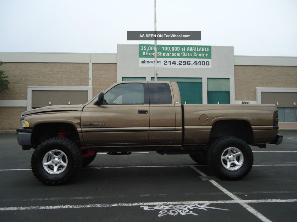 medium resolution of 2000 dodge ram 1500 lifted 4x4 off road look photo