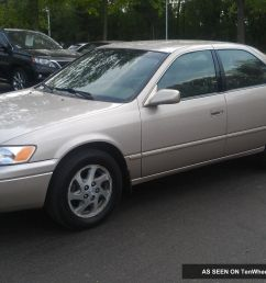 1999 toyota camry le 6 cyl 3 0l just detailed good to go runs strong good deal [ 1600 x 956 Pixel ]
