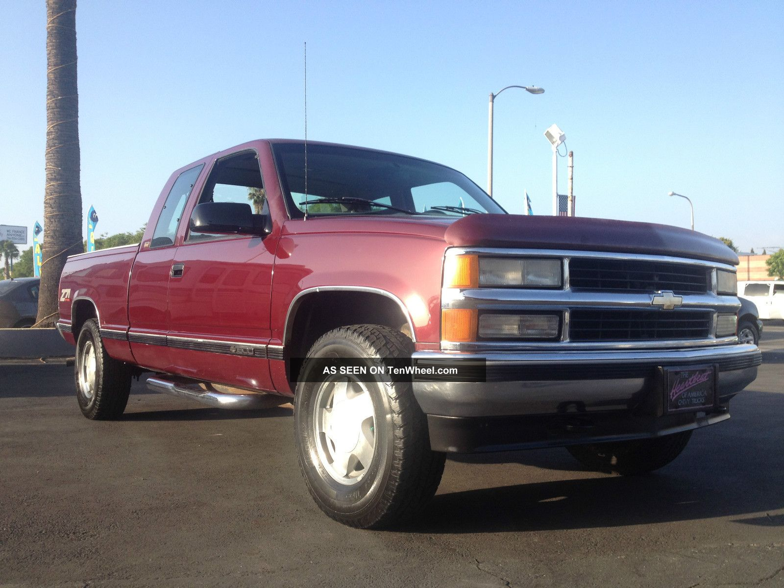 hight resolution of 96 silverado