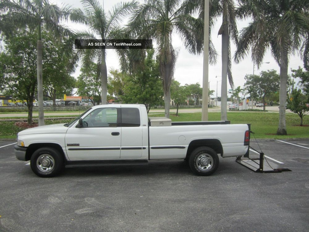 medium resolution of 1998 dodge ram 2500 laramie slt x cab with lift gate cummins diesel make offer