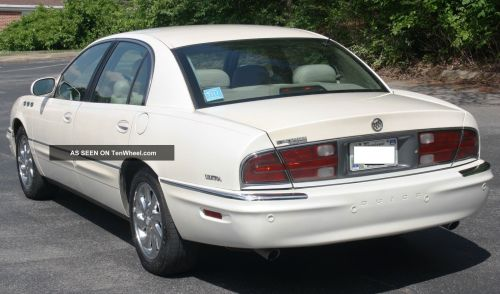 small resolution of gorgeous 2003 buick park avenue ultra luxury sedan fully loaded pearl white