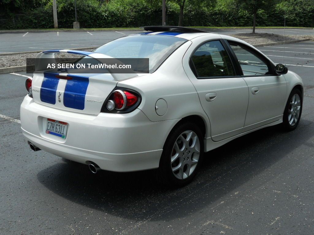 Sxt Dodge 2005 White Neon