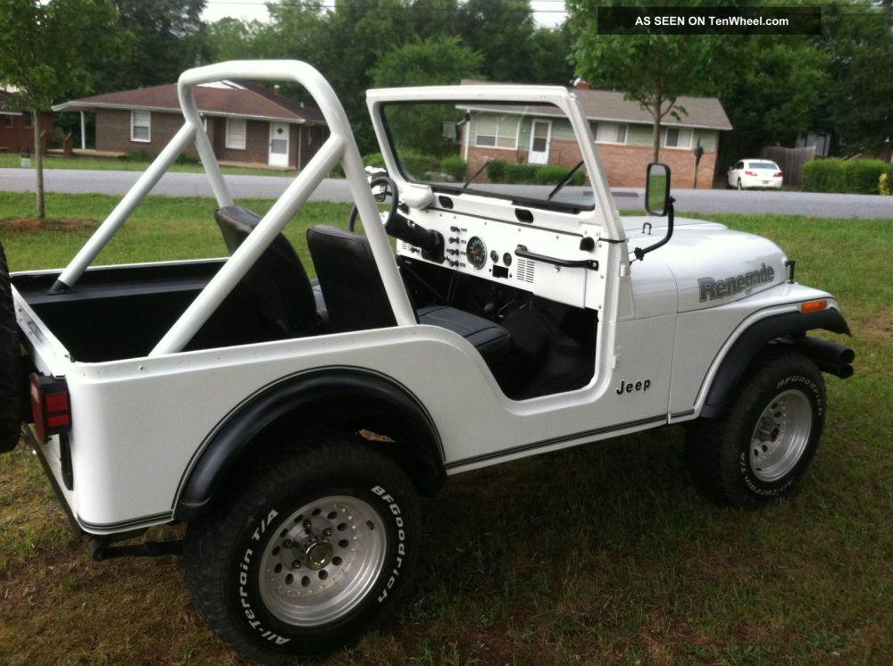 medium resolution of 1981 jeep cj5 renegade