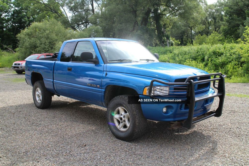 medium resolution of 2001 dodge ram 1500 sport extended cab pickup 4 door 5 2l 4x4 inspected