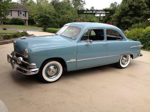 small resolution of 1951 ford custom 2 door sedan v8 std shift rh tenwheel com directional wiring diagrams ford