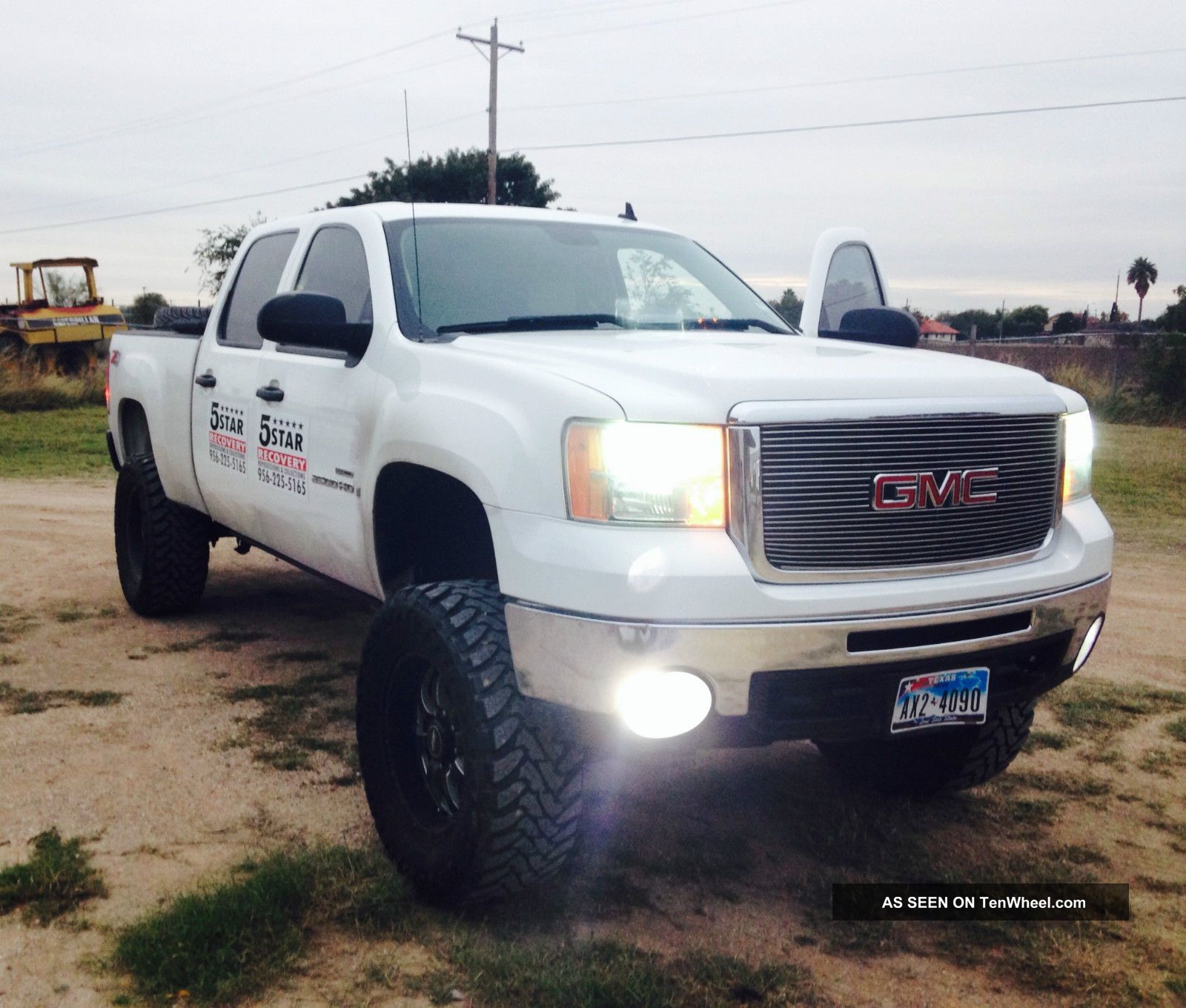 hight resolution of 2008 gmc sierra 2500hd duramax 6 6l turbodiesel lifted z71 4x4 deleted stack