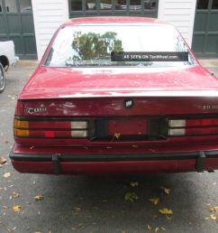 1988 buick lesabre t type coupe lesabre photo 7  [ 1600 x 1200 Pixel ]