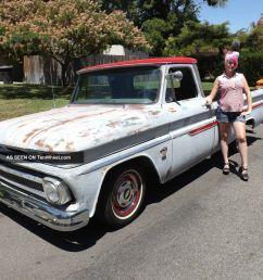 1965 c10 custom cab pick up truck hot rat rod chopper bobber hauler i6 292 six [ 1600 x 1200 Pixel ]