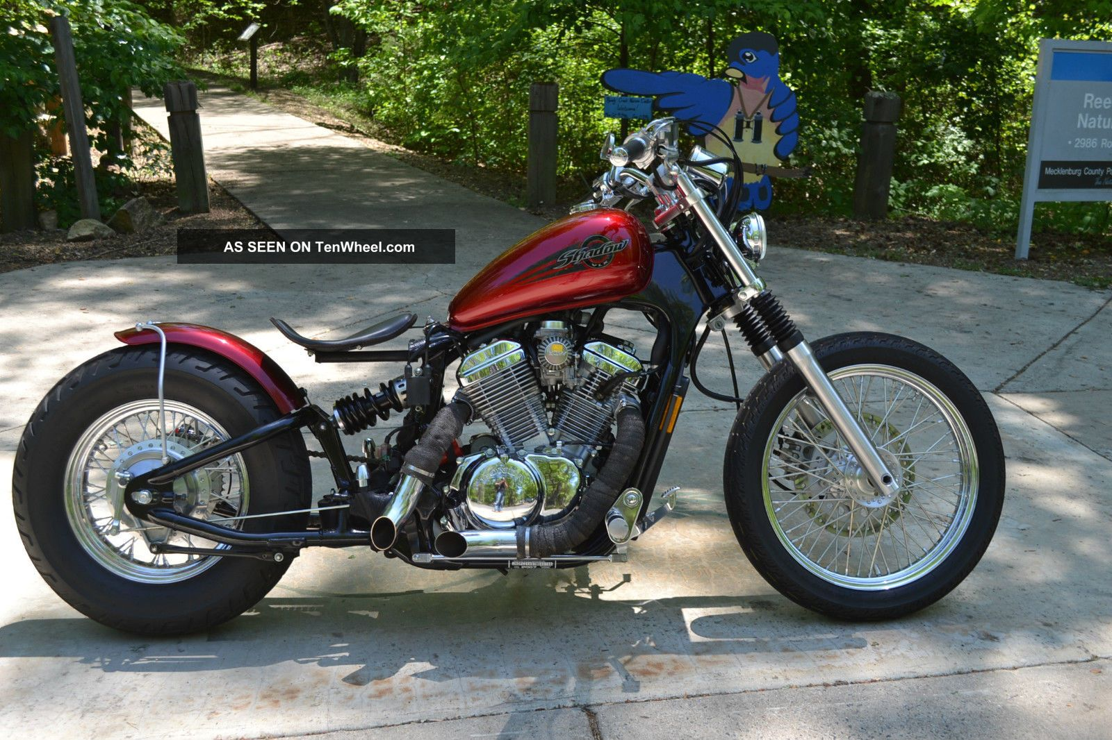 American Ironhorse Wiring Diagram  Honda Shadow 2007 Vlx600c Bobber Full Customized