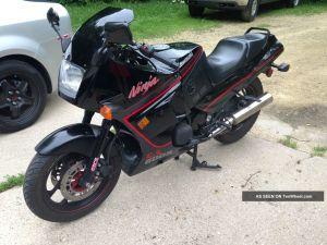 1989 Kawasaki Ninja Zx600r 600r Vintage Sport Bike