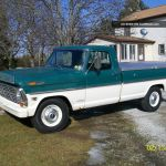 1968 Ford F250 Pickup Camper Special