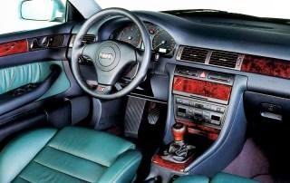 Audi S6 C5 interior