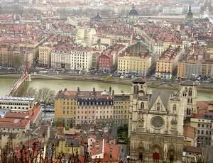 Lyon historic center