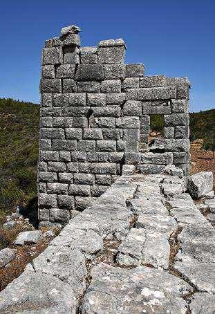 Las guerras mesenias: la fortaleza del monte Itome