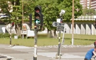 إشارة المرور الضوئية