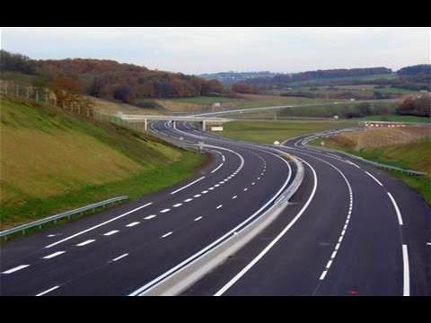 الاوتوستراد او طريق الخط السريع فى السويد