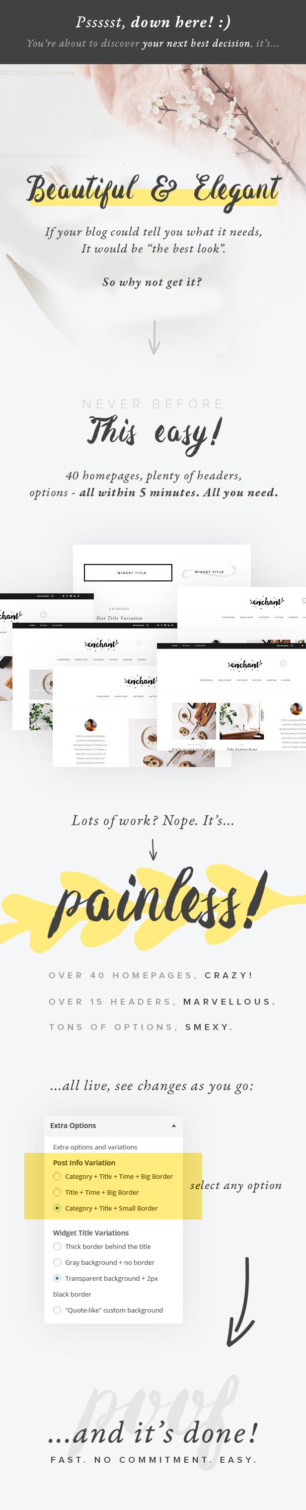 Enchant - Multi-Concept WordPress Blog Theme - 1