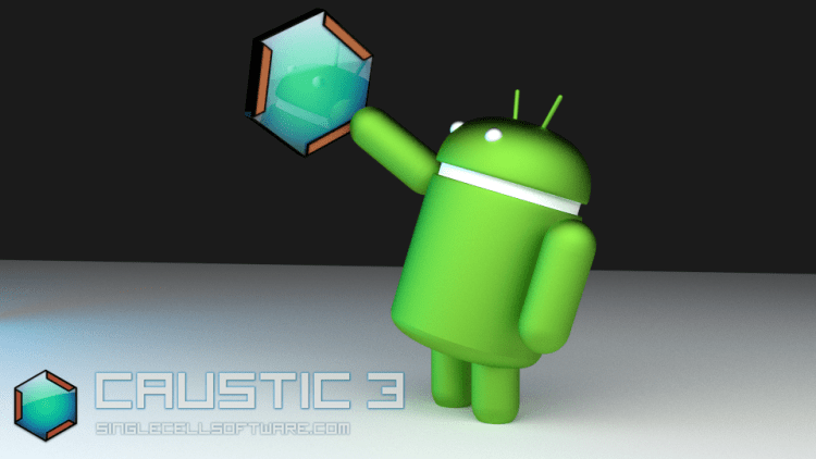 Teoti Graphix Android and Caustic