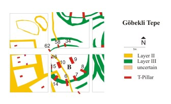 Schematic plan of Enclosure B (copyright DAI).