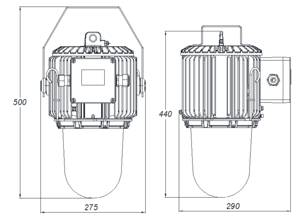 Pendant light fitting PLFS