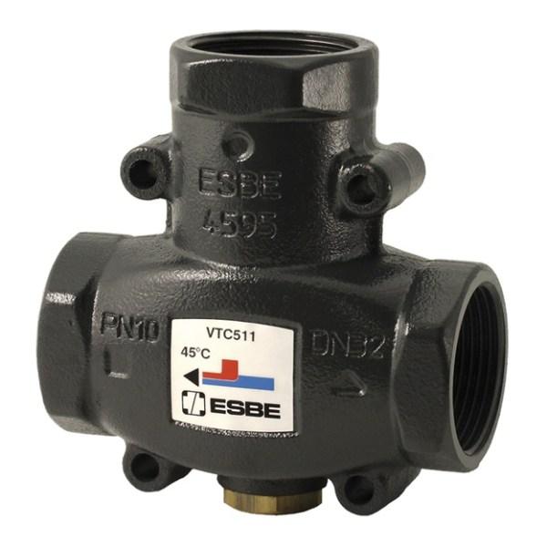 3-ходовой термический клапан ESBE VTC 511 DN25