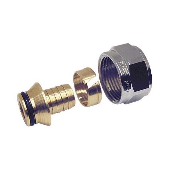 Соединитель конусный KAN-therm Push PLATINUM 18×2,5 G3/4″ фото