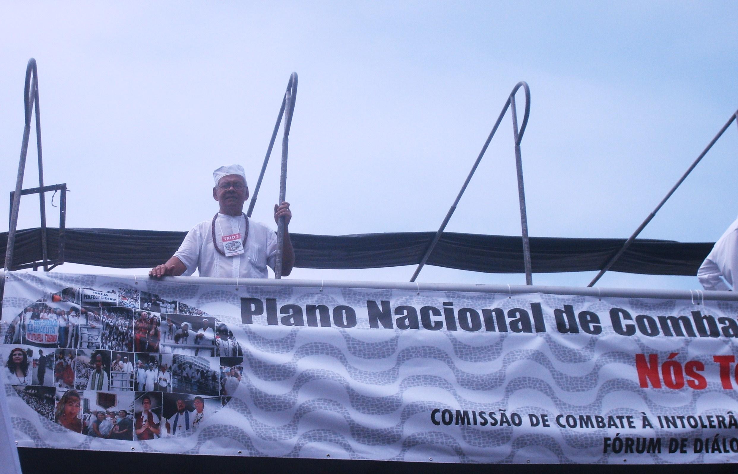 Nosso Dirigente Ivo de Carvalho estava lá - Foto / Sylvia Arcuri
