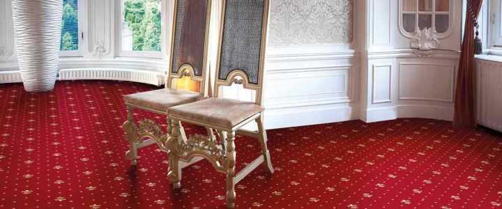 Schön, strapazierfähig, pflegeleicht – Hotel Teppichboden