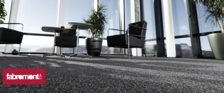 Fabromont Kugelgarn Teppichboden für Büro und Objekt