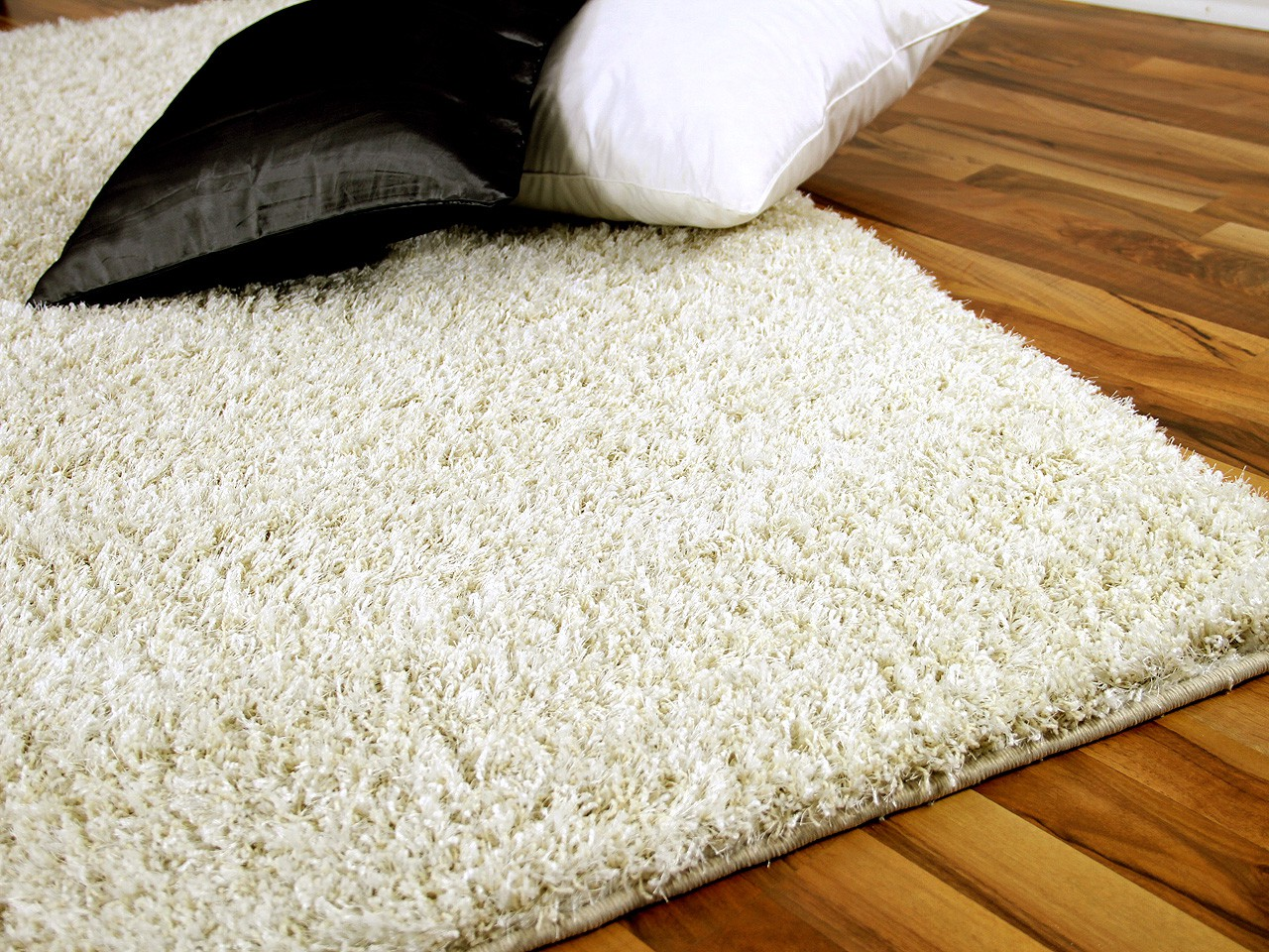 Hochflor Shaggy Teppich Luxus Feeling Mix Silber Hochflor Shaggy Teppich Luxus Feeling Mix Weiss Creme