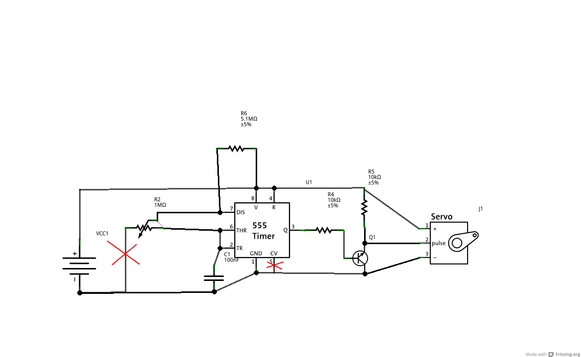 servo drive schematic