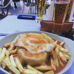 Francesinha , comida tipica de Portugal