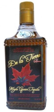 de la tierre maple cinnamon liqueur reposado tequila, maple tequila
