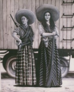 Adelitas of the Mexican Revolution.