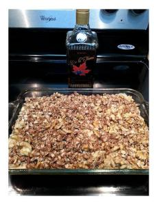 De la tierre, maple, tequila, coffee cake, recipe, maple tequila, tequila aficionado, lisa pietsch