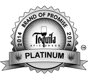 tequila awards, tequila aficionado, brands of promise