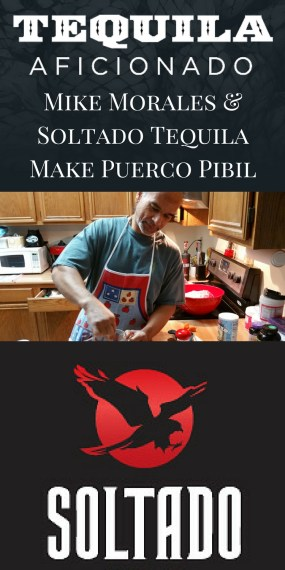 Mike Morales Makes Puerco Pibil with Soltado Tequila http://wp.me/p3u1xi-4t6